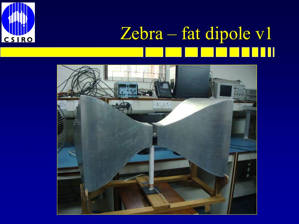 ZEBRA Global EoR Experiment n ZEro-spacing measurement of the Background RAdio spectrum n Partially reflecting resistive screen n Virtual zero spacing interferometer n Removes all additive errors n Modulate screen .
