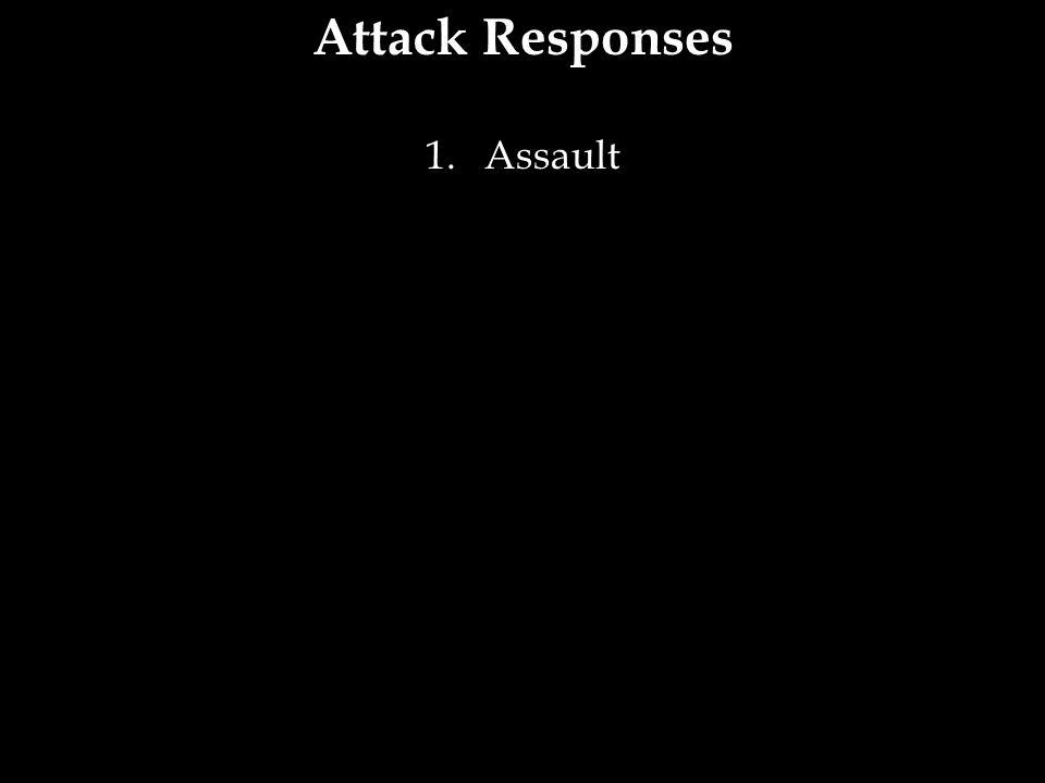 Attack Responses 1.Assault