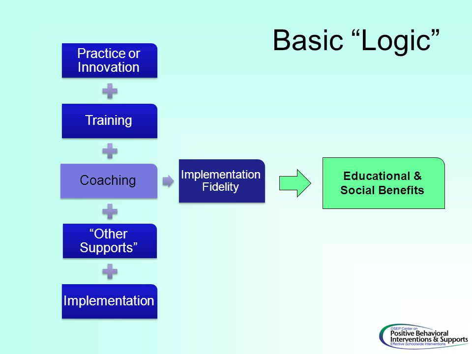 Educational & Social Benefits Basic Logic
