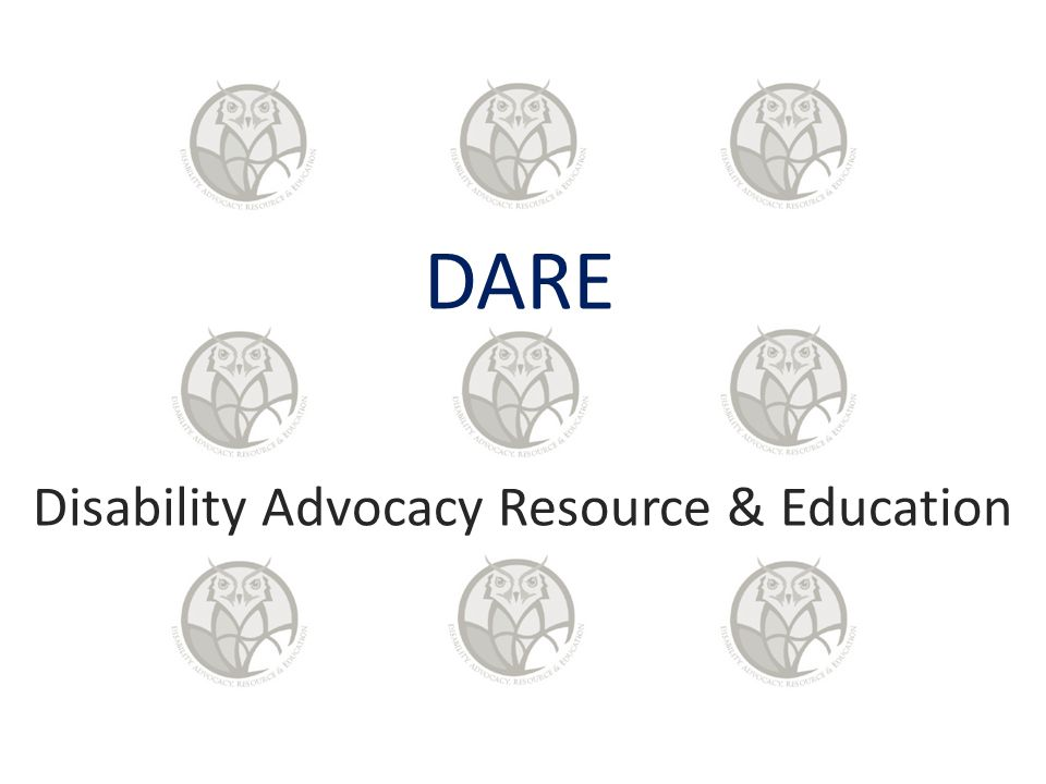 DARE Disability Advocacy Resource & Education
