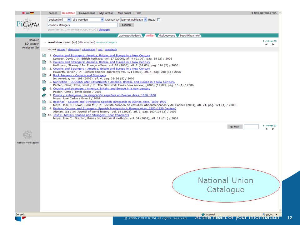 13 Shared Cataloguing System (GGC)