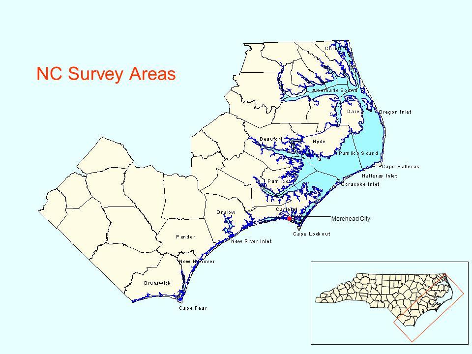 NC Survey Areas Morehead City