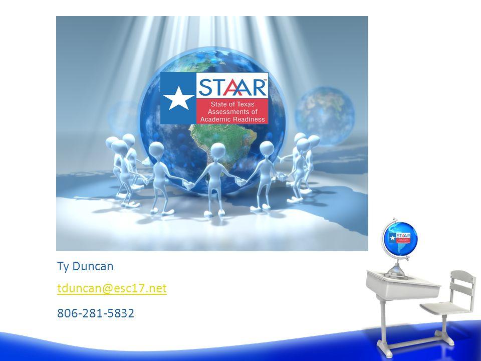 Ty Duncan tduncan@esc17.net 806-281-5832