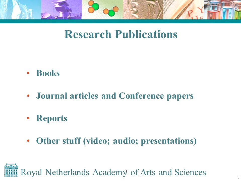 Royal Netherlands Academy of Arts and Sciences 1 NARCIS as a first step to a Dutch AID Structured research information from the NOD Information from academic OAI repositories Information from DANS datasets All these records are simultaneously searchable 18