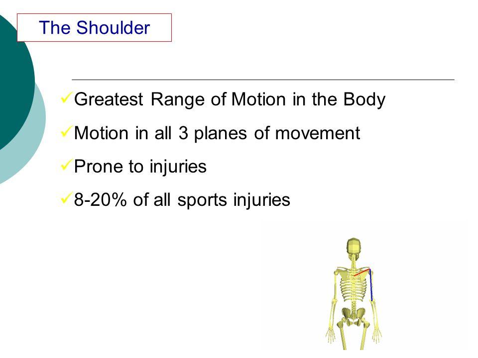 Shoulder dislocation 2% of the population 90% anterior dislocation