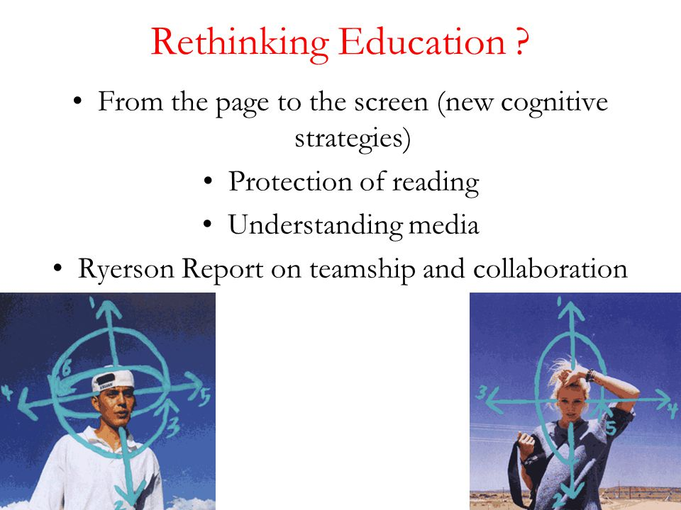 Rethinking Education .