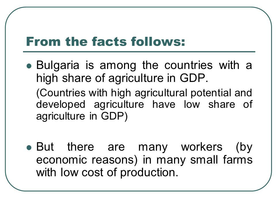 FNSZ – 90-years old but modern trade unionism in Bulgaria 5,500 employees in various systems of the Bulgarian agriculture: Farms, cooperatives, agricultural enterprises  Irrigation systems  Bulgarian Food Safety Agency (BFSA)  Agency Hail Suppression  Agency Selection and Reproduction in Animal Breeding  Agricultural Academy  small farmers 120 trade unions - 4 structured branches and other Member of CITUB Member of the IUF and EFFAT Active participant in social dialogue at all levels