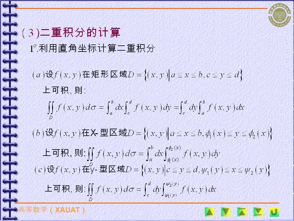 6 、曲面包含在圆柱 内部的那部分面积 ( ). ; (B) ; (D).