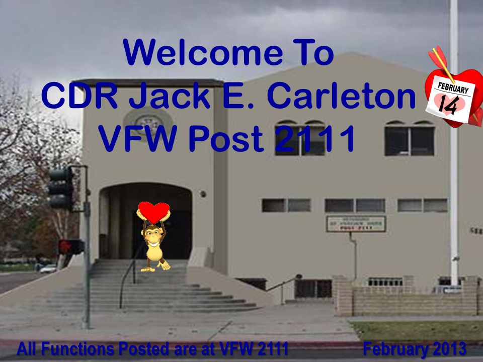 Welcome To CDR Jack E.