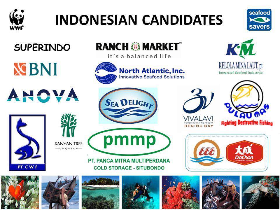 SUPERINDO INDONESIAN CANDIDATES