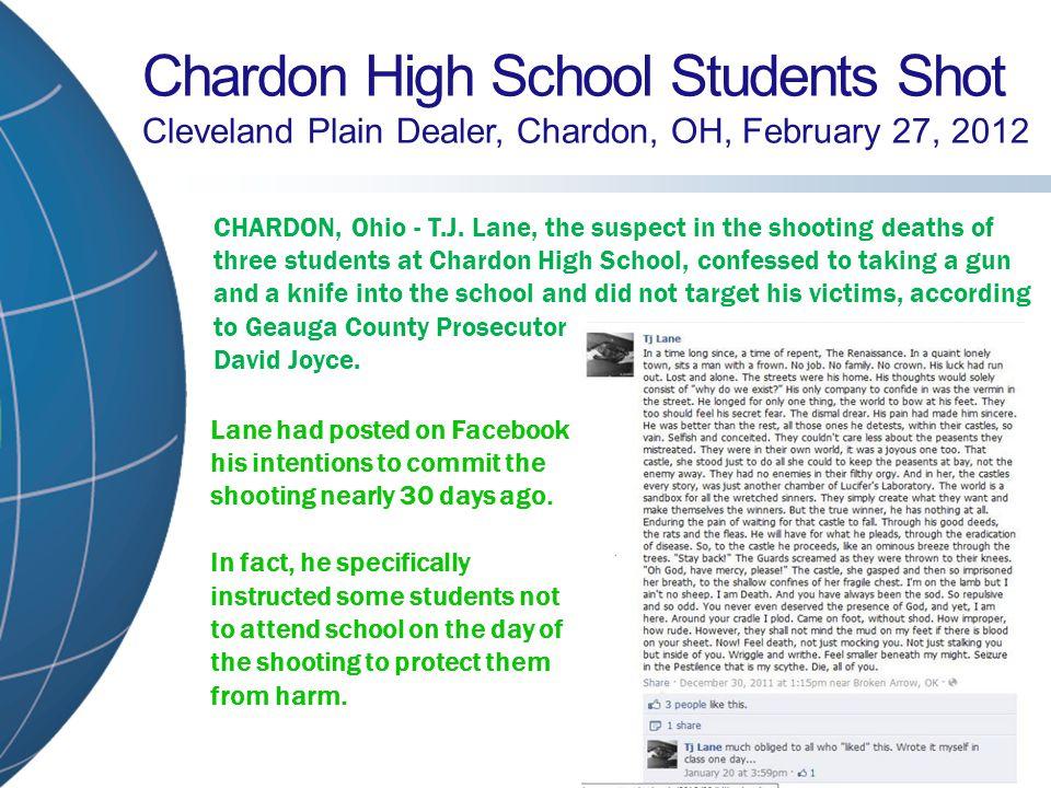 West Middle School Student Shot Martinsville Reporter-Times, Martinsville, IN, March 25, 2011 MARTINSVILLE, Ind.