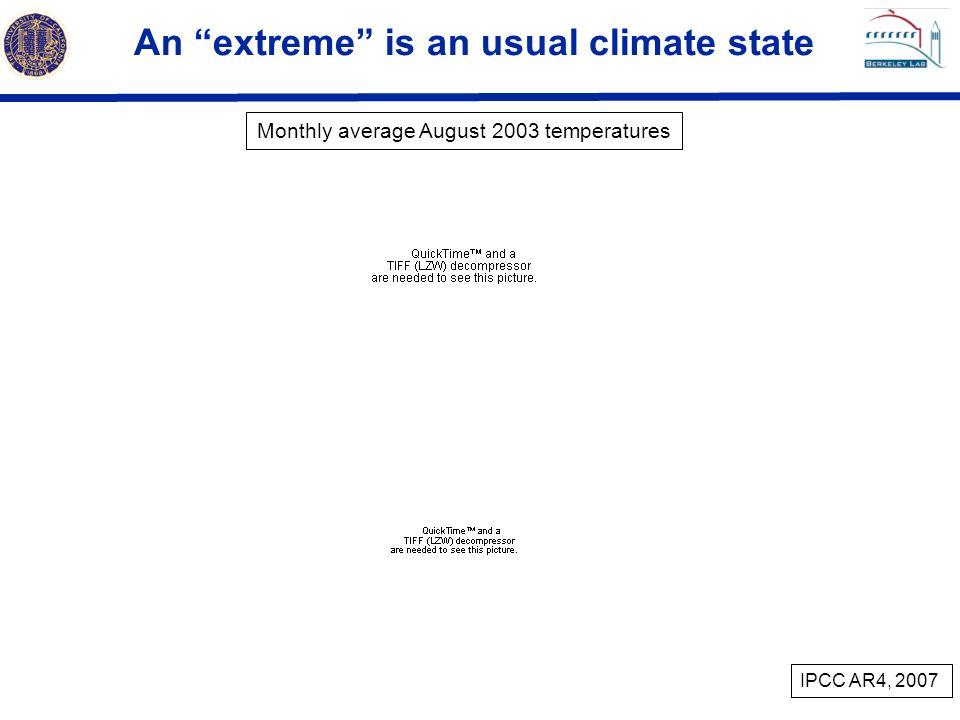 Increasingly warmer conditions Days/decade Days Alexander et al, 2006 +29% –41%