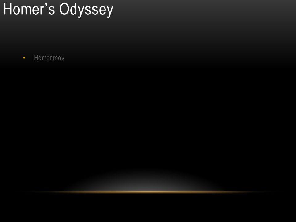 Homer ' s Odyssey Homer.mov