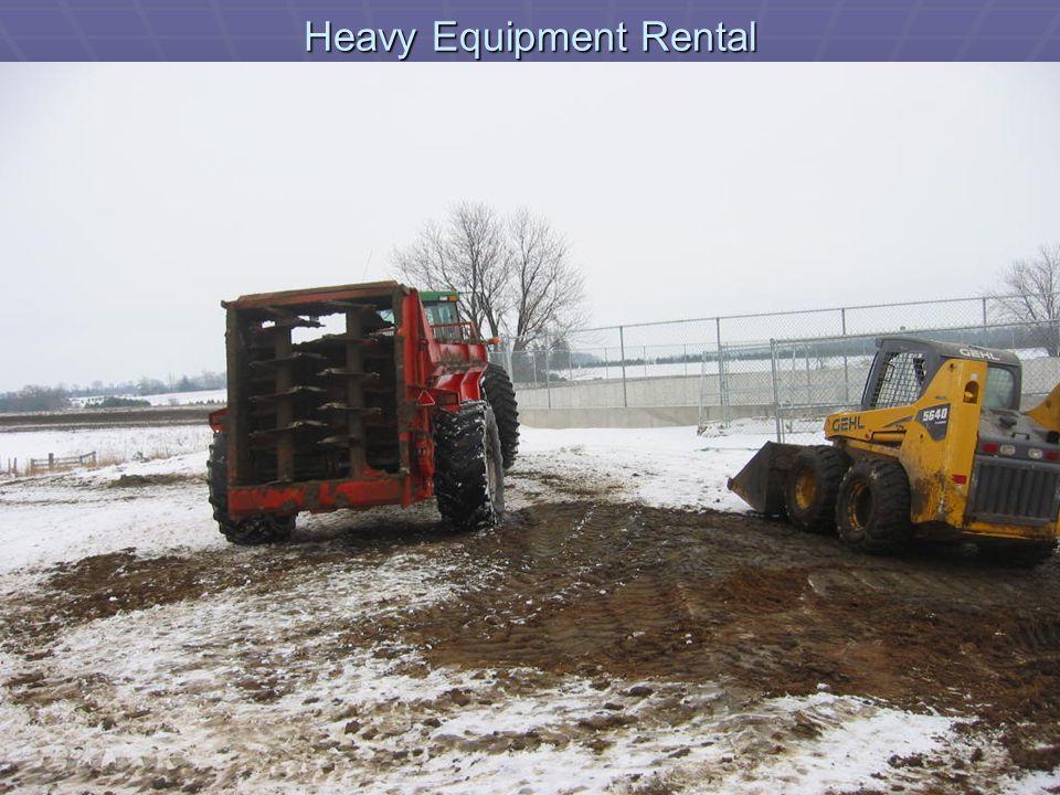 Heavy Equipment Rental