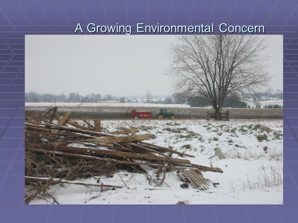 A Growing Environmental Concern A Growing Environmental Concern