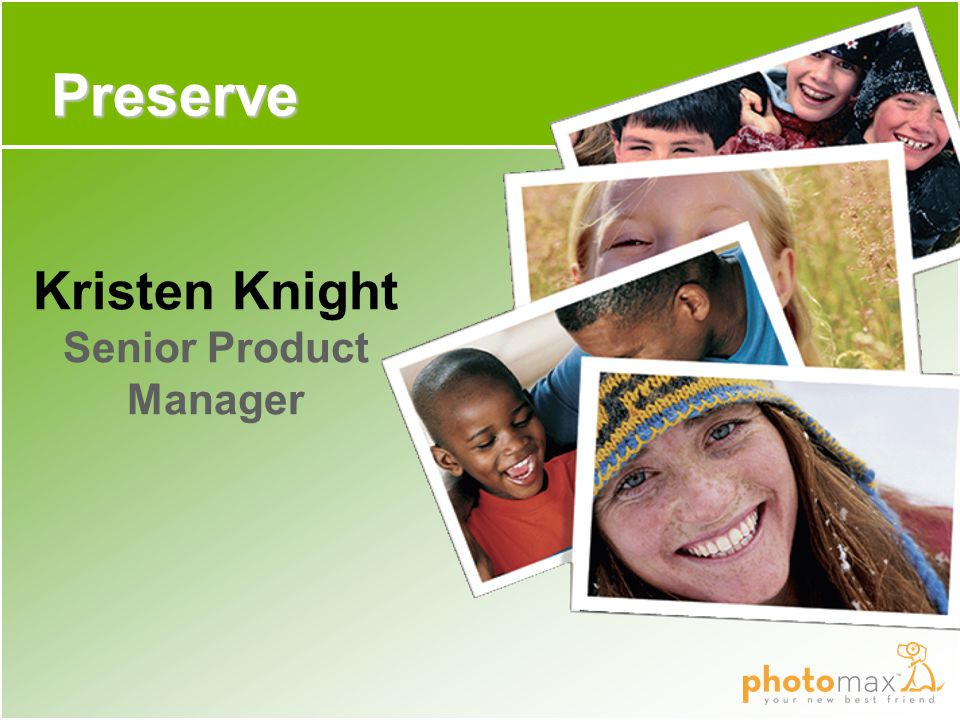 Preserve Kristen Knight Senior Product Manager