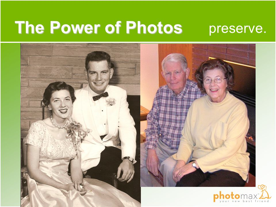 preserve. The Power of Photos