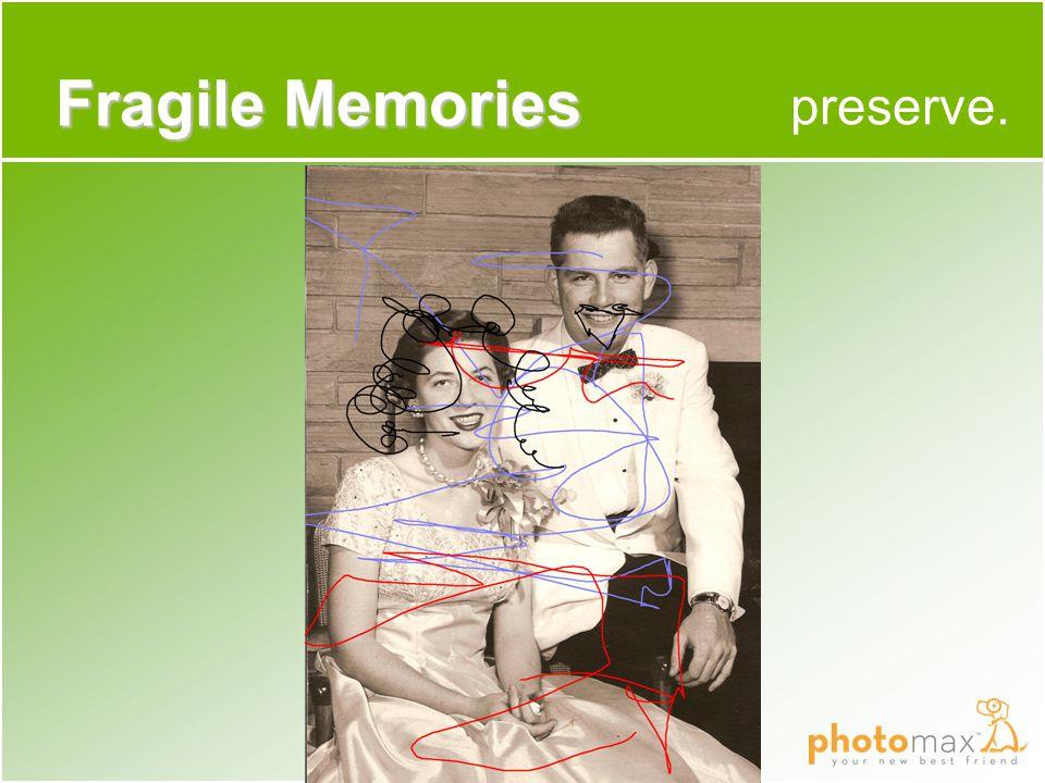 preserve. Fragile Memories