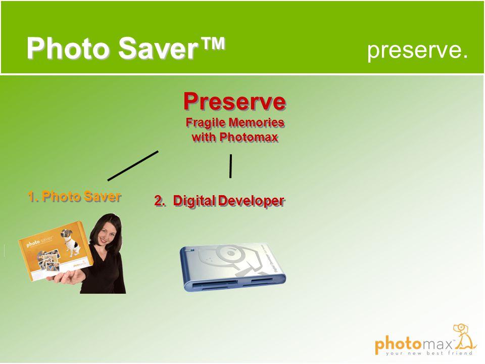 preserve. Photo Saver™ 1. Photo Saver 2.
