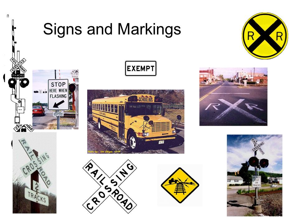 Signs and Markings