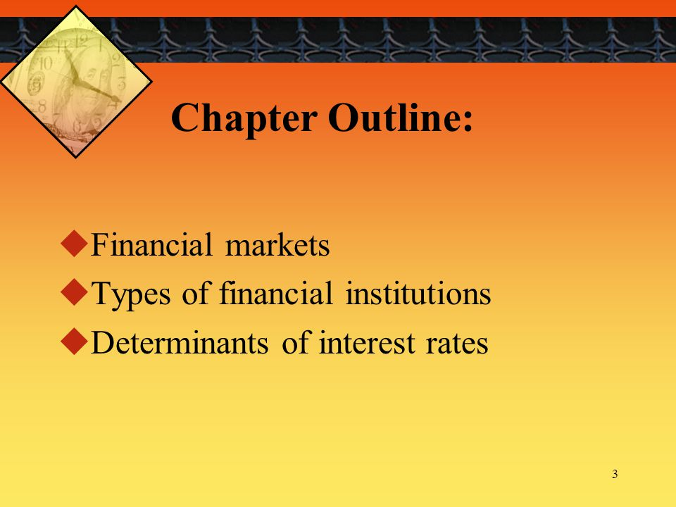 4 What is a Financial market. A market is a venue where goods and services are exchanged.
