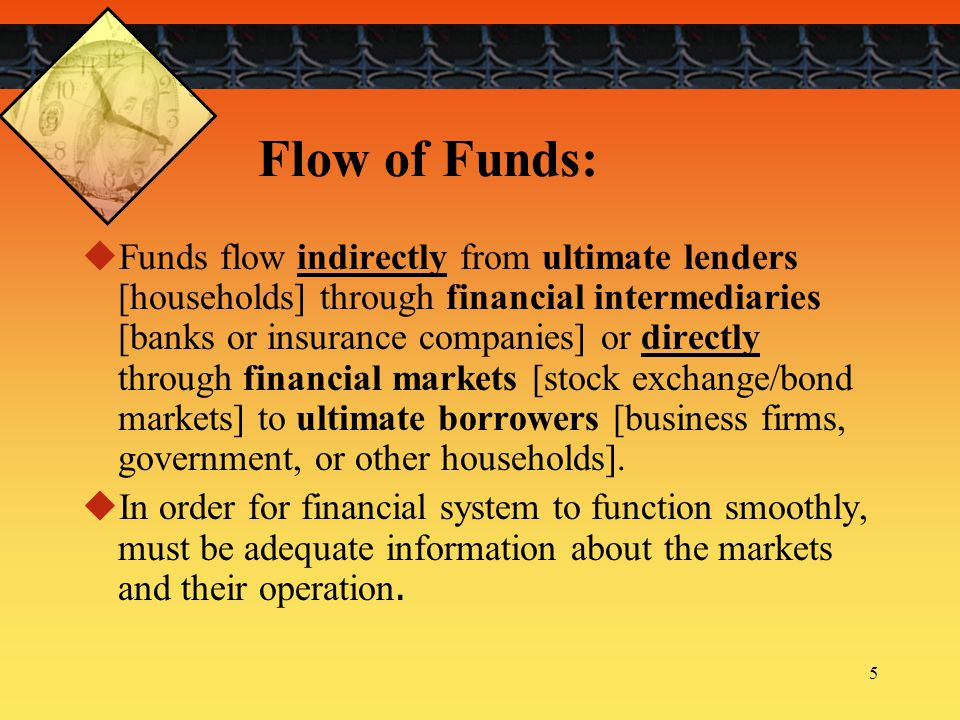 16 Financial Intermediaries:  Commercial banks  Savings and loan associations  Credit unions  Pension funds  Life insurance companies  Mutual funds