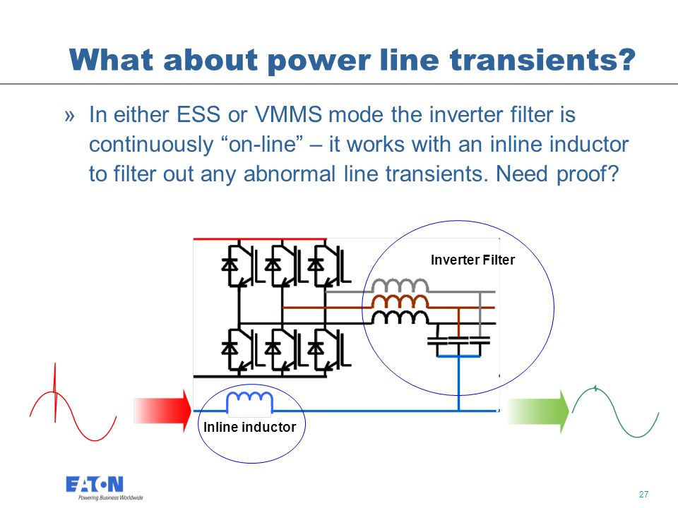 27 What about power line transients.