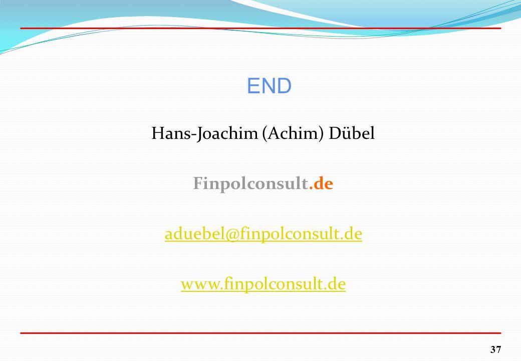 37 END Hans-Joachim (Achim) Dübel Finpolconsult.de aduebel@finpolconsult.de www.finpolconsult.de