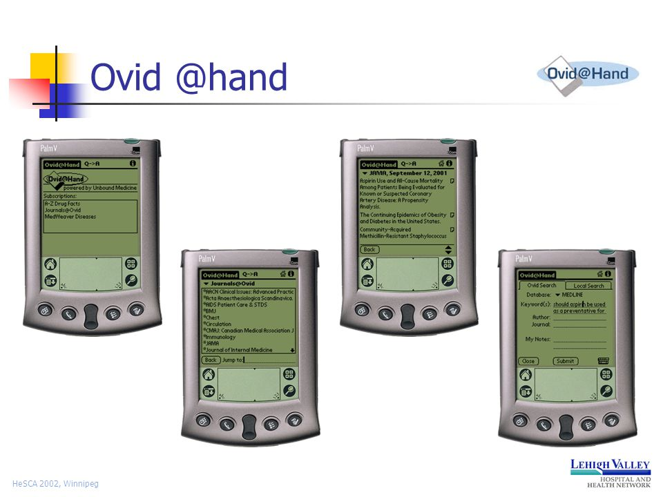 HeSCA 2002, Winnipeg Ovid @hand
