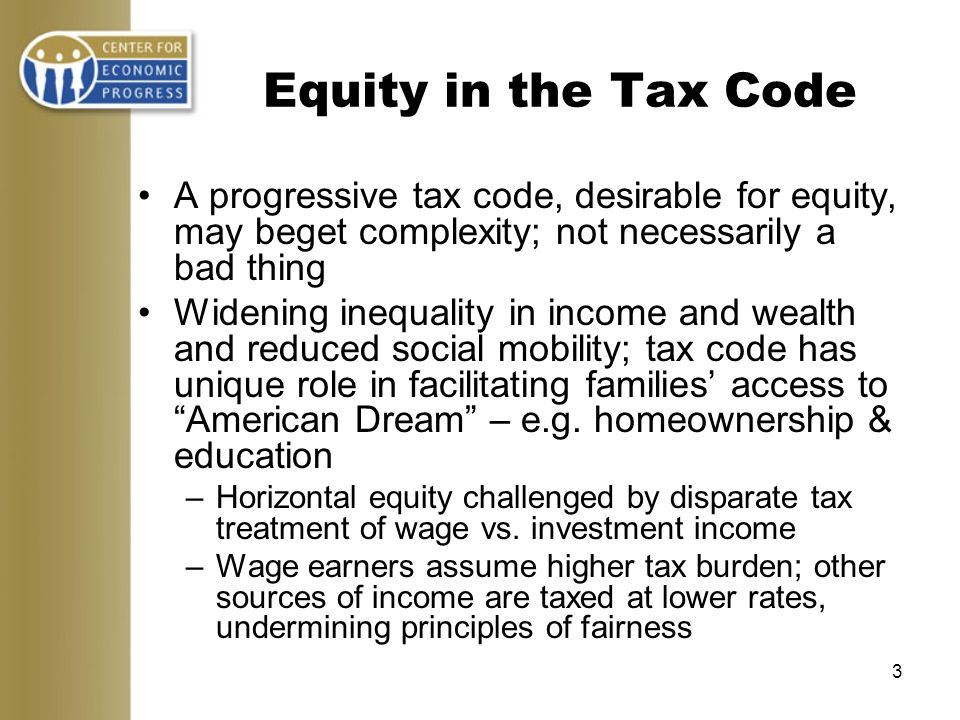 4 Tax Credits: Tools of Social Policy.