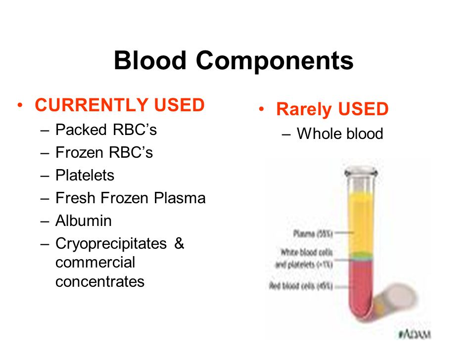 Objectives Identify common blood products List steps in blood administration Identify complications of blood administration Acute Transfusion Reaction
