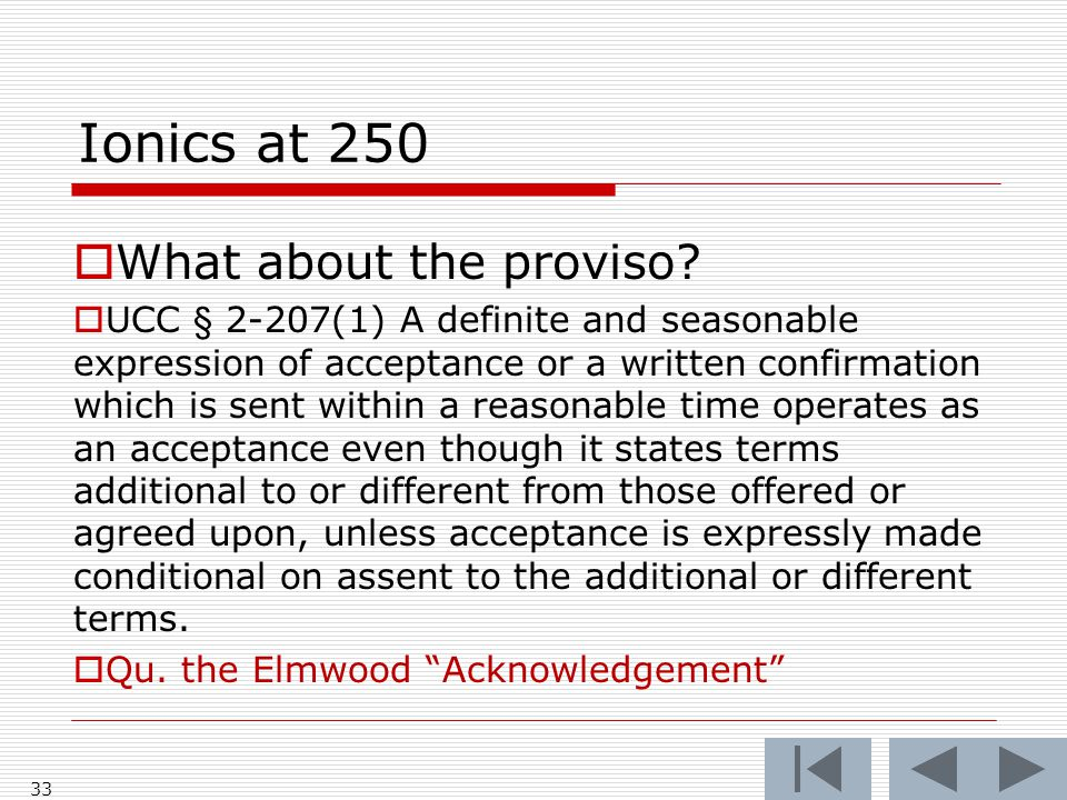 Ionics at 250  What about the proviso.