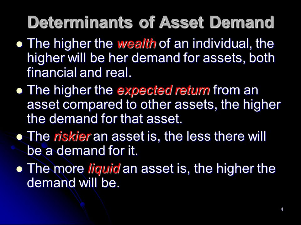 25 How To Divide Assets Into Money and Bonds Money Money Currency Currency Demand deposits Demand deposits Bonds Bonds Savings deposits Time deposits Bonds Stocks