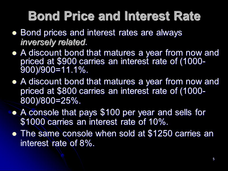 6 Demand for Bonds In boom times wealth (and income) rise.