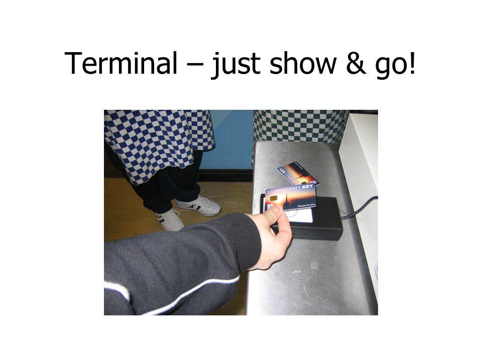 Terminal – just show & go!