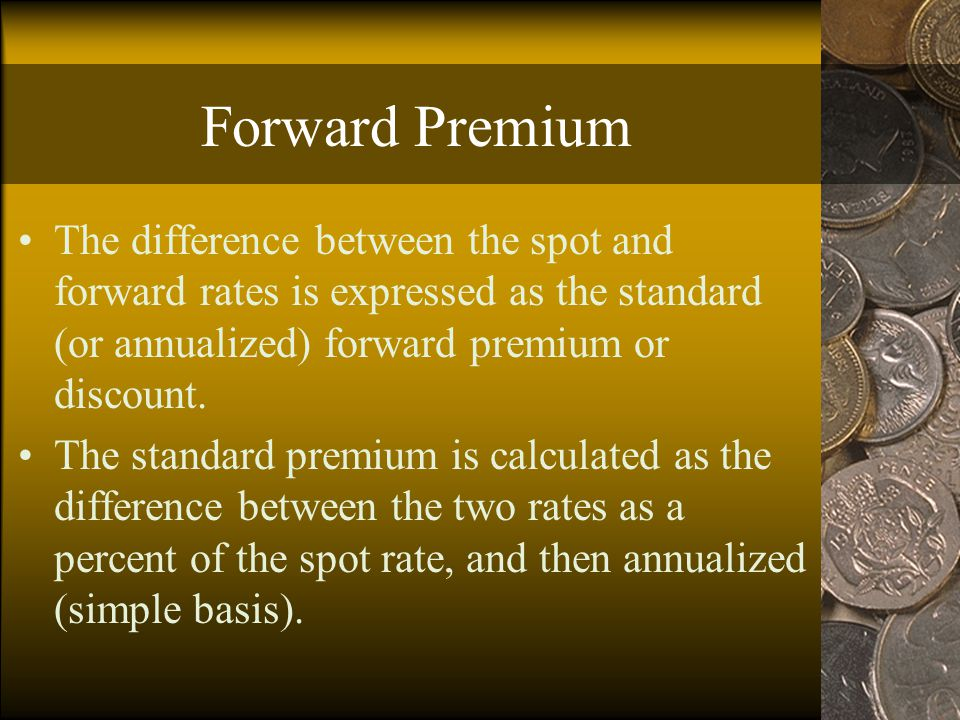 UIP as an Equilibrium Condition Consider the following situation: R – R* >  S e, with both sides positive.