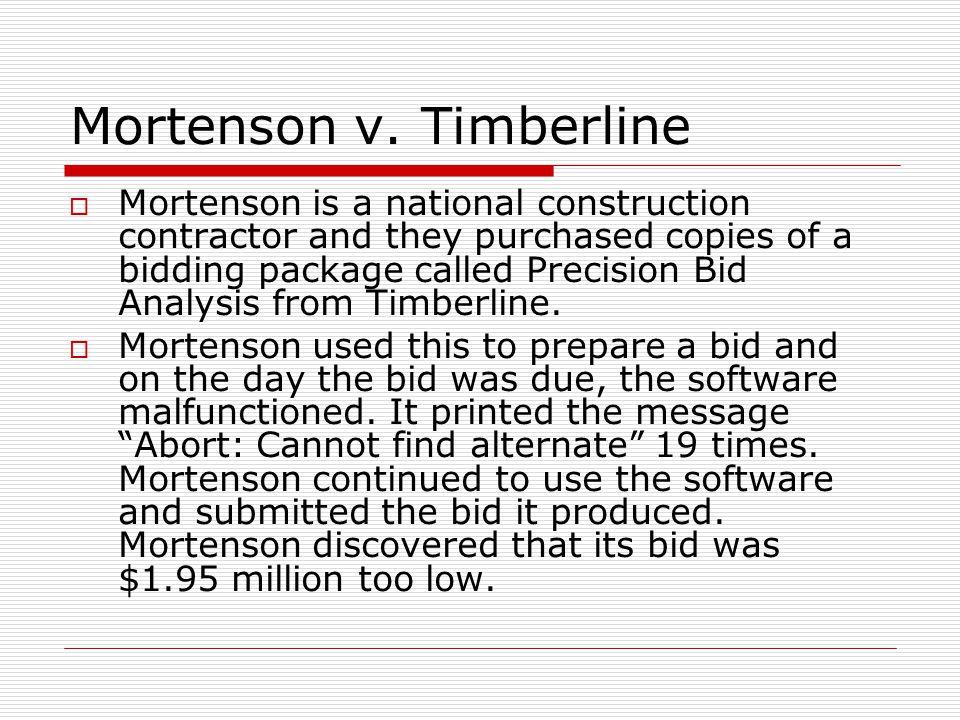 Mortenson v.
