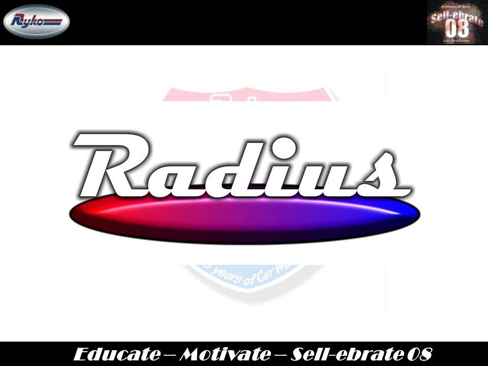 Educate – Motivate – Sell-ebrate 08 April 7 th – 10 th ICA-Orlando, FL 2008 Annual Sales Meeting RADIUS HP