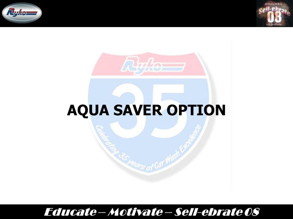 AQUA SAVER OPTION