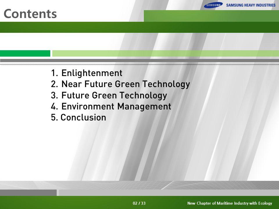 13 / 33 3. Future Green Technology