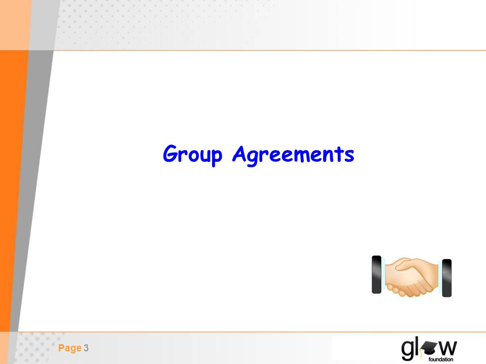 Page 3 Group Agreements