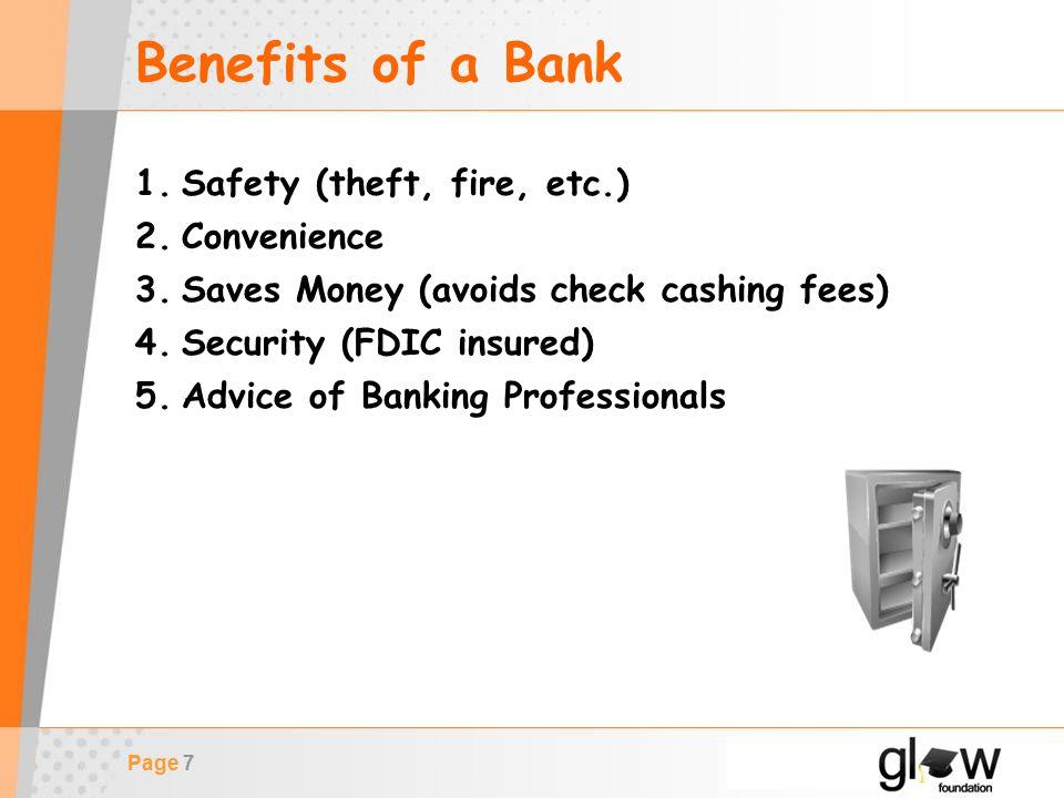 Page 8 Savings Account Basics What is a Savings Account?