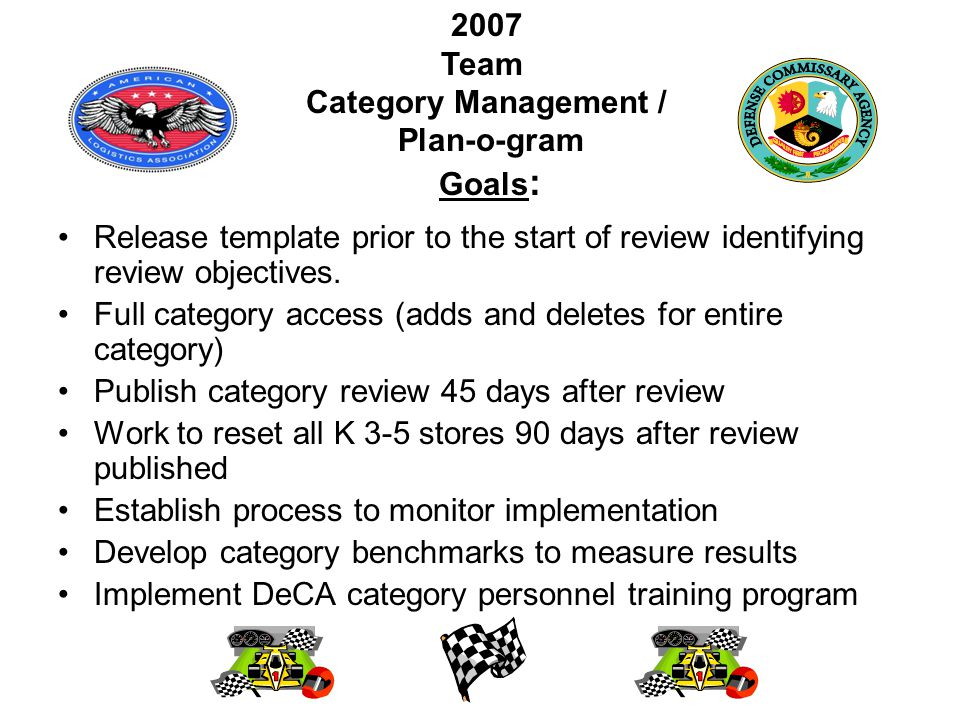 Release template prior to the start of review identifying review objectives.