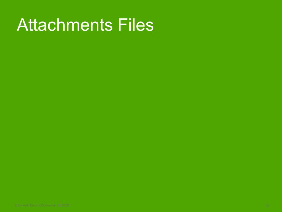 Schneider Electric 19 Colombia - EE 2008 Attachments Files