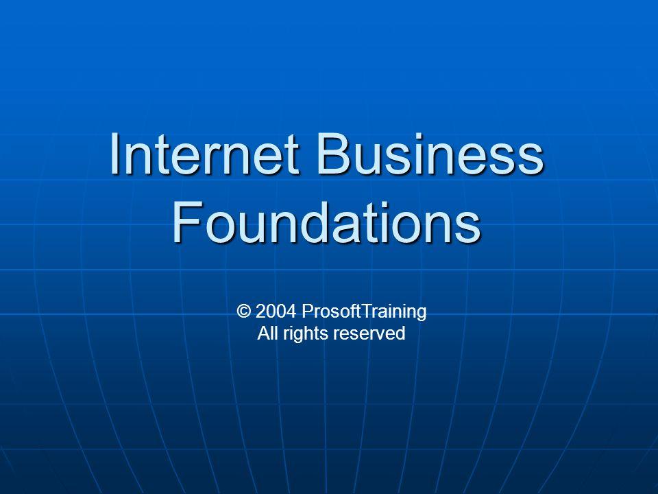 Lesson 7: Internet Security
