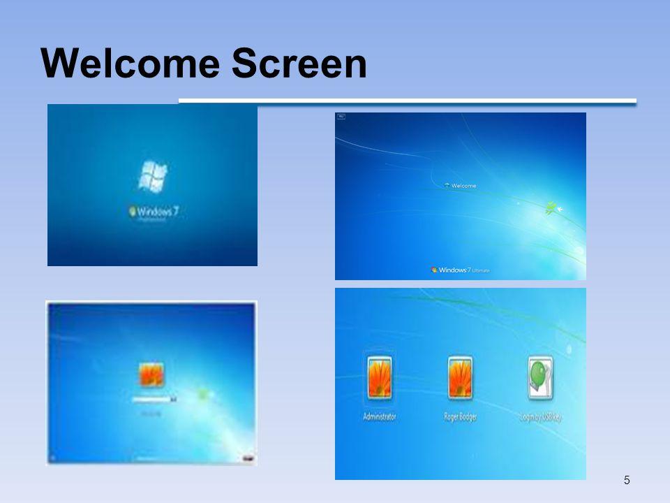Welcome Screen 5