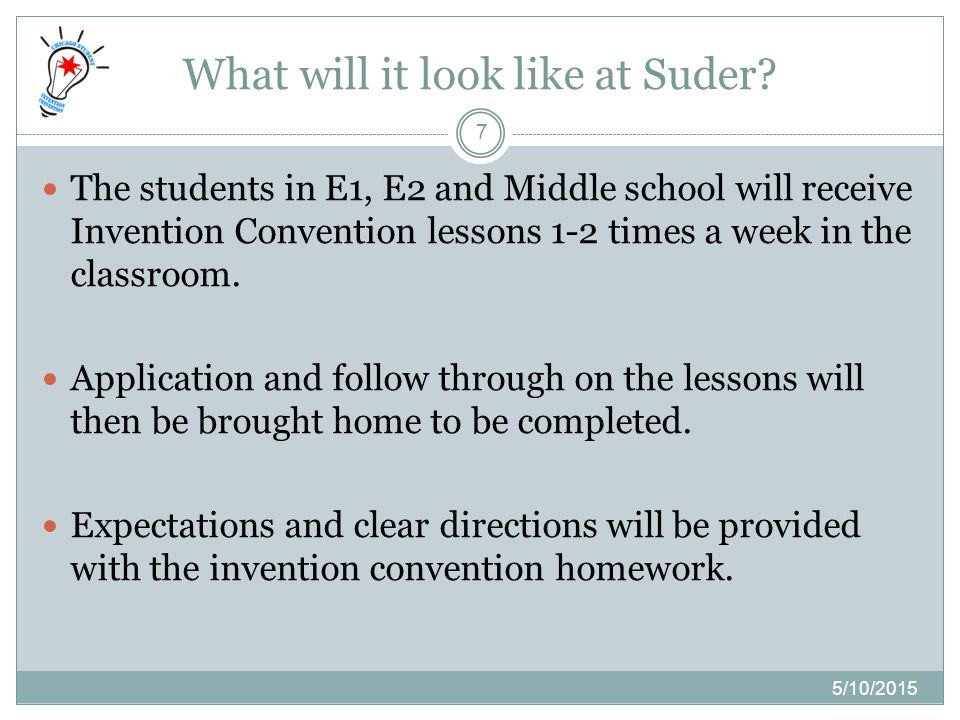 What will it look like at Suder.