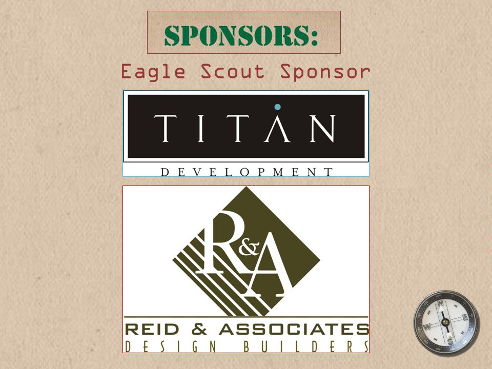 Eagle Scout Sponsor
