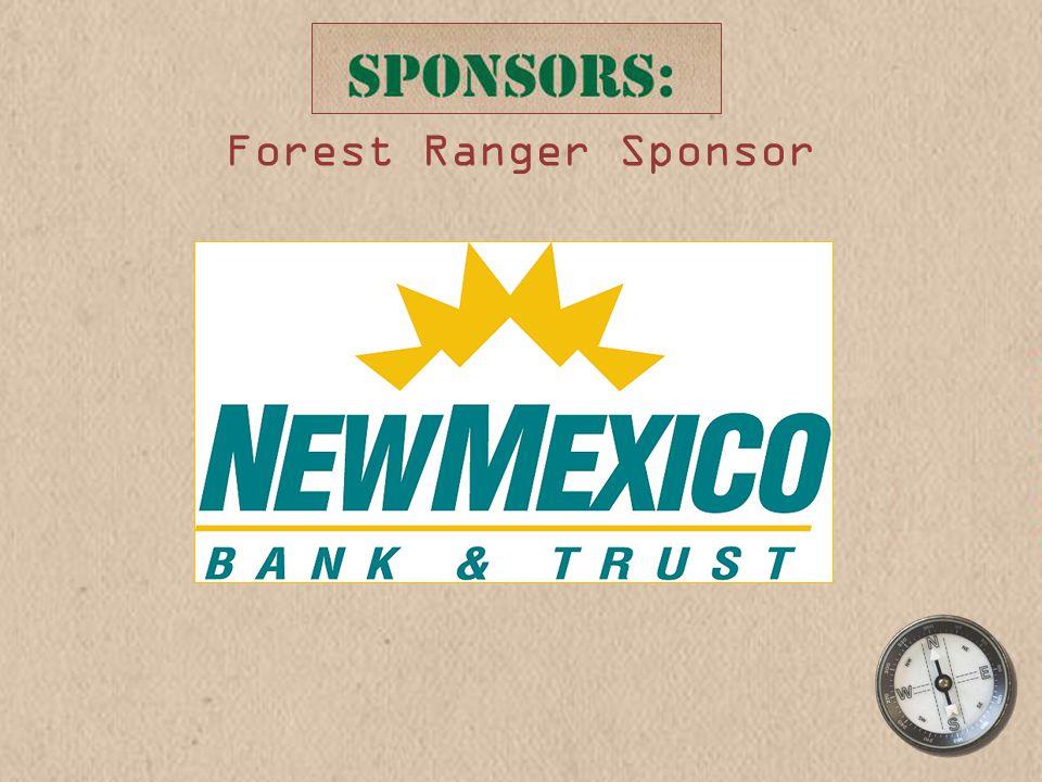 Forest Ranger Sponsor