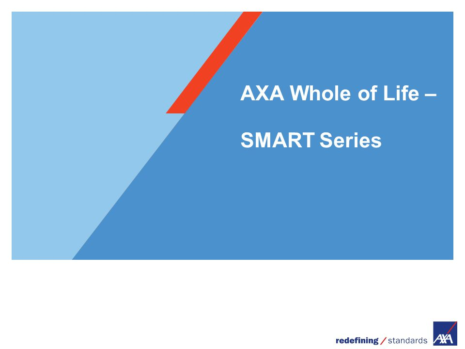 AXA Whole of Life – SMART Series